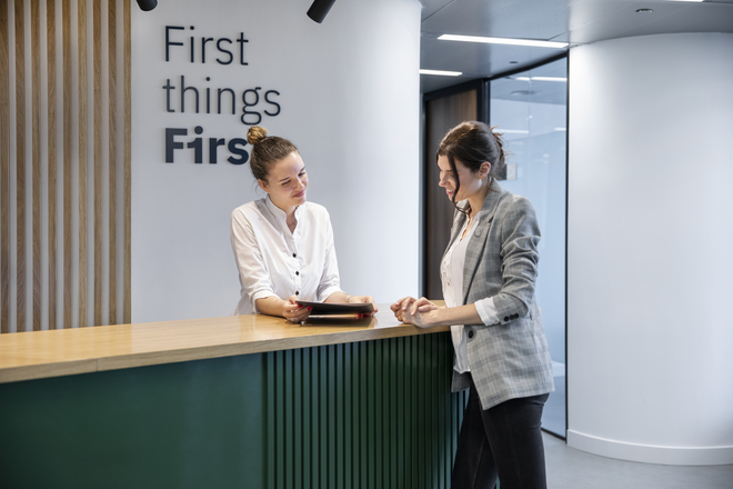 First Workplaces - taking care of your business