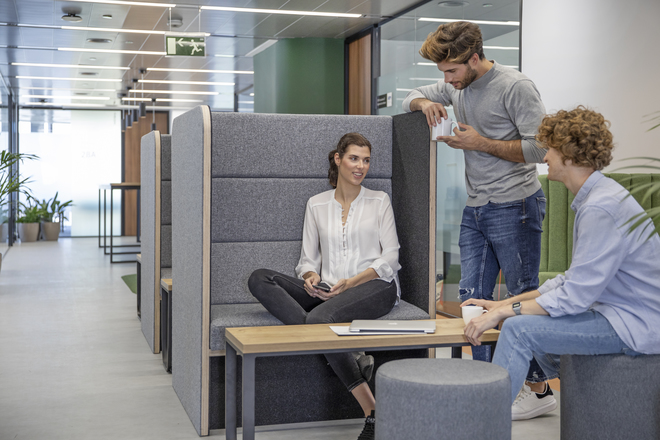 Open spaces: First Workplaces
